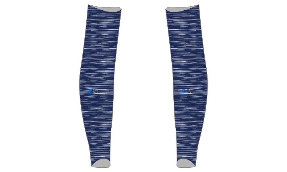 100% polyester sublimation custom printed custom baseball arm sleeves