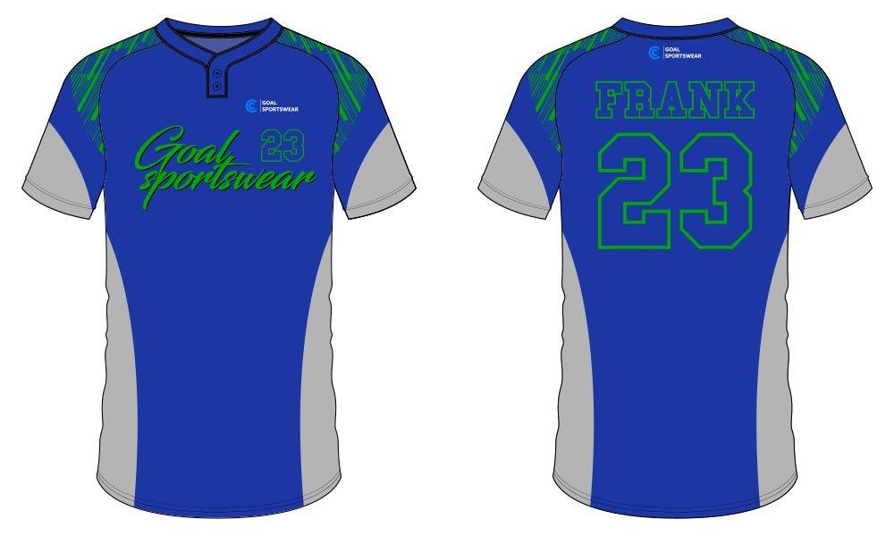 100% polyester sublimation custom printed sublimated baseball uniforms