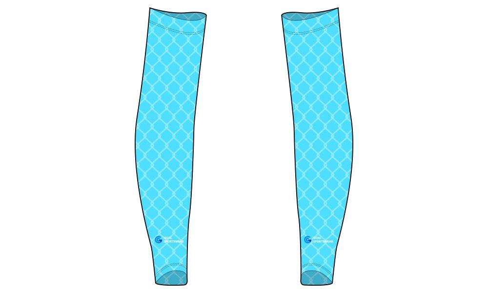 100% polyester sublimation mens custom baseball arm sleeves