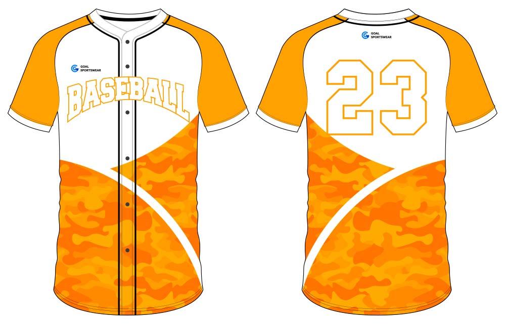 100% polyester sublimation mens custom sublimated baseball uniforms