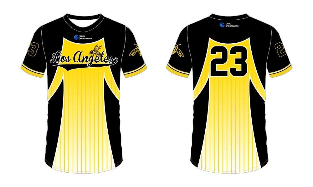 100% polyester sublimation printing custom youth team custom baseball tees