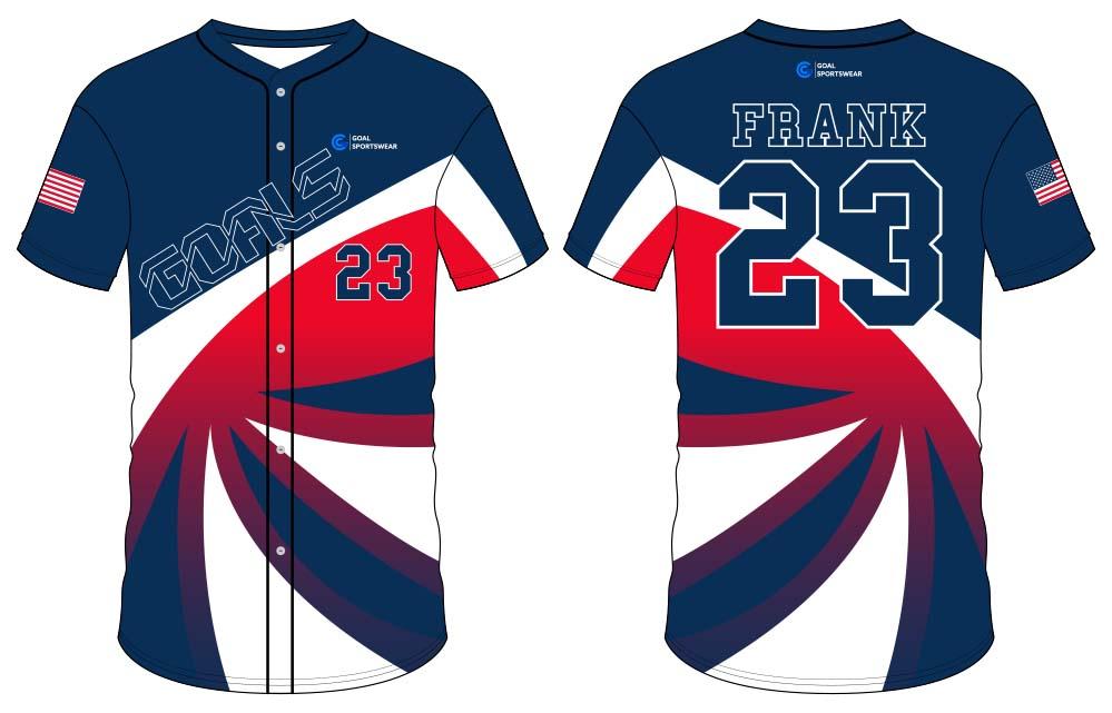 100% polyester sublimation printing custom youth team custom throwback baseball jerseys