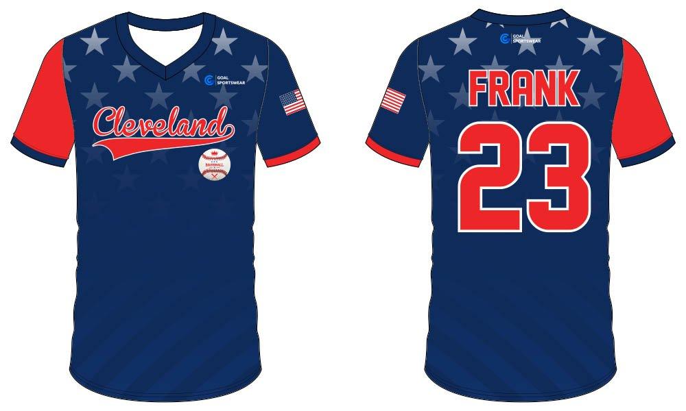 100% polyester sublimation printing custom youth team sublimated baseball uniforms