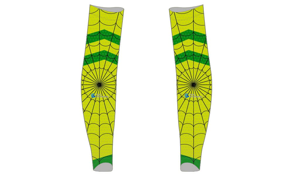 Custom design sublimation printing breathable reversible custom baseball arm sleeves