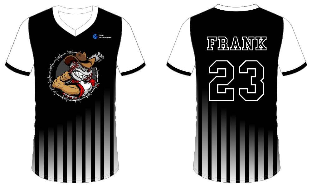 Custom made sublimated printing short sleeve custom throwback baseball jerseys
