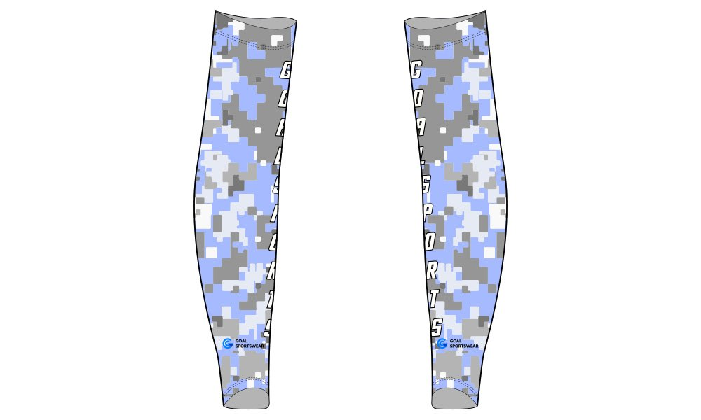 Custom made sublimation printing mens pro custom baseball arm sleeves