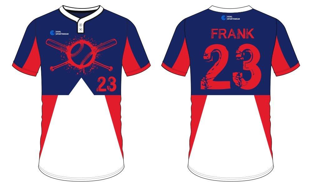 Custom made sublimation printing mens pro sublimated baseball uniforms