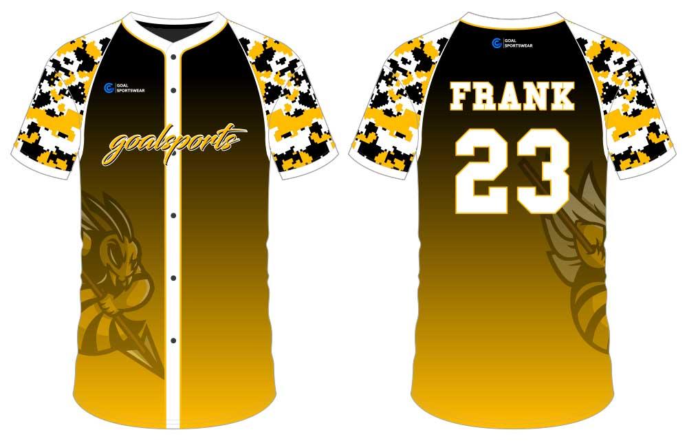 Custom wholesale sublimated printed sublimated baseball uniforms