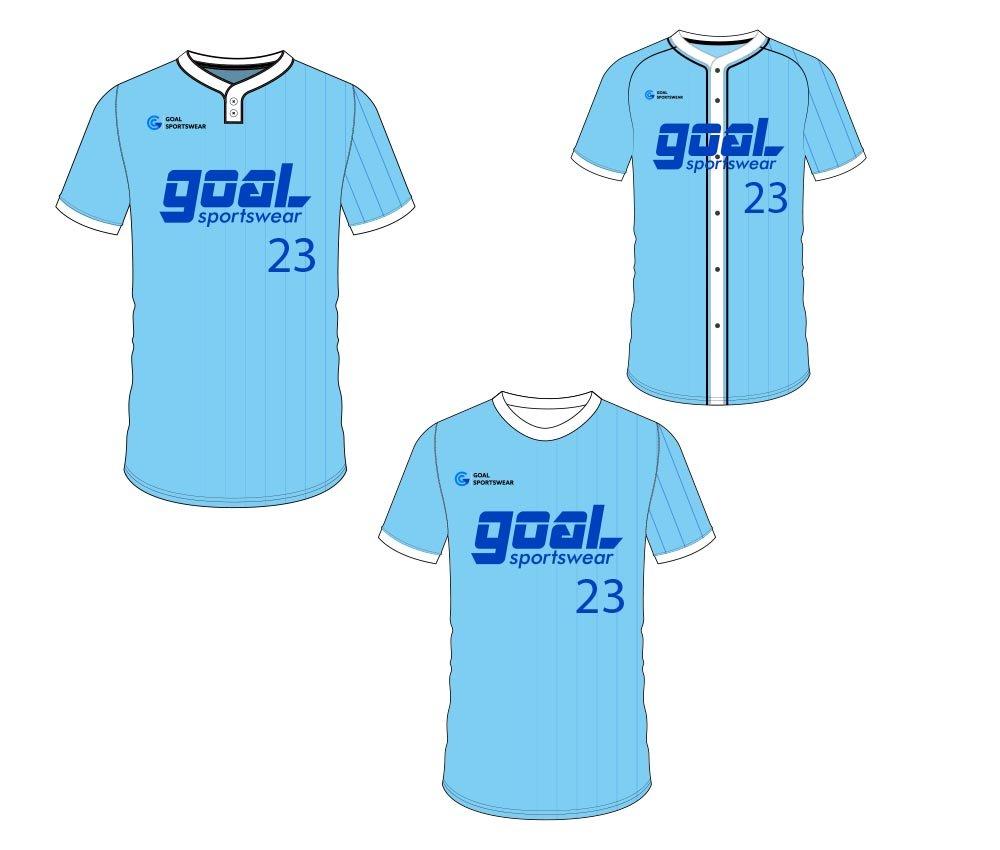 Dye sublimation custom design team custom baseball gear