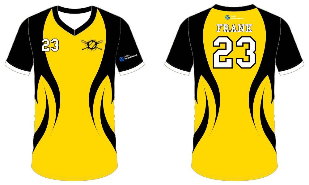Dye sublimation custom design team sublimated baseball uniforms