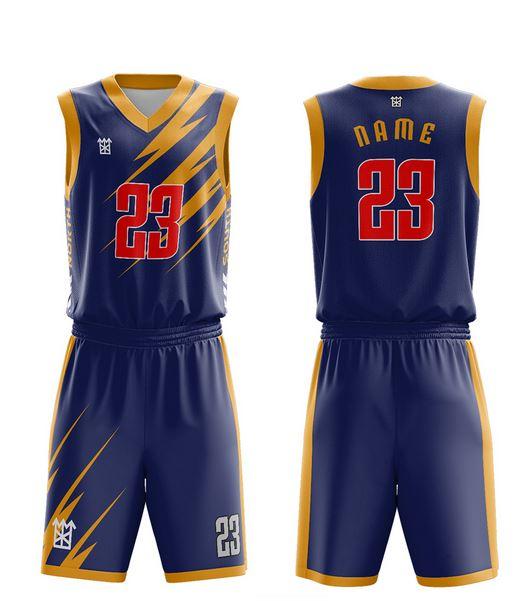 sublimation basketball uniform