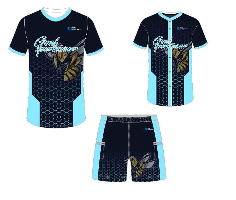 Full Sublimated custom made mens team custom baseball gear