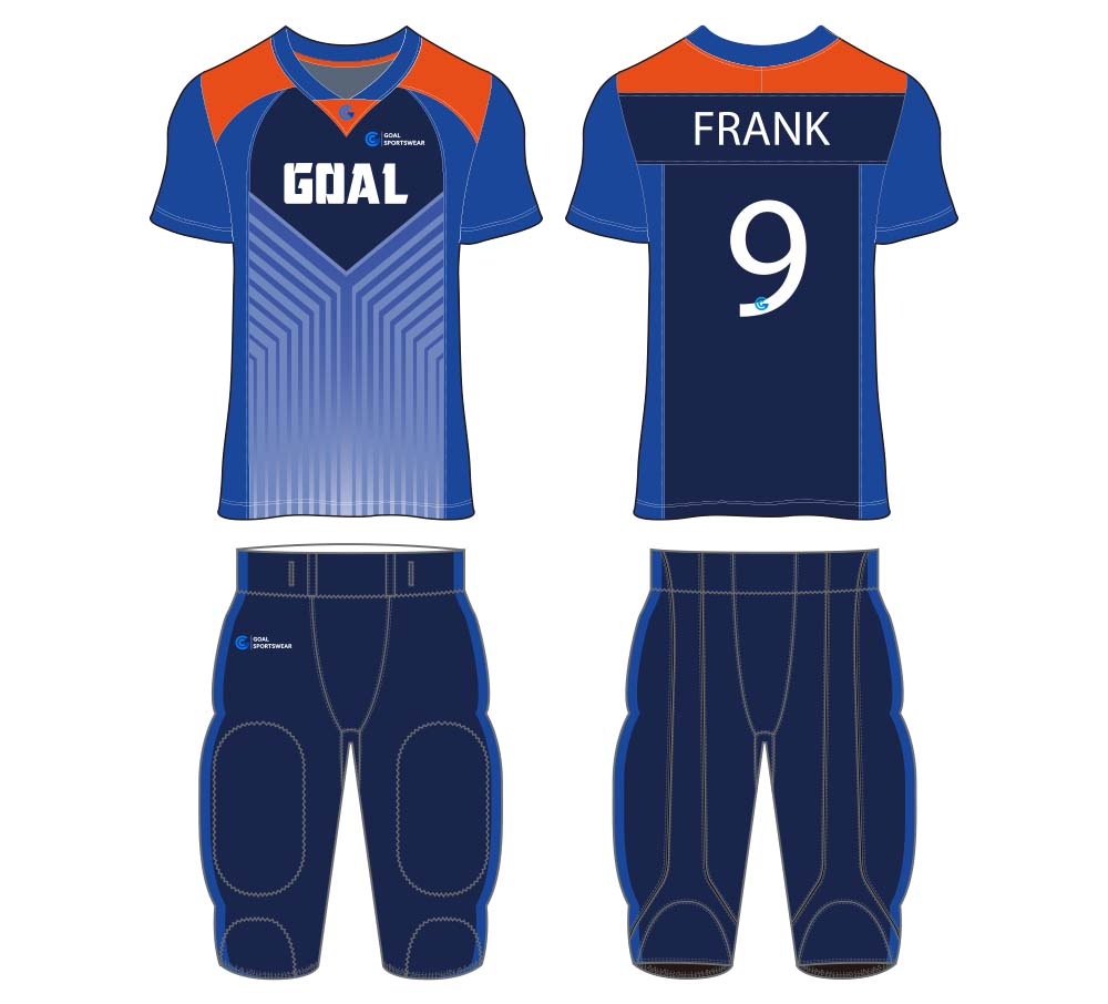 Full Sublimated custom made mens team football jersey design