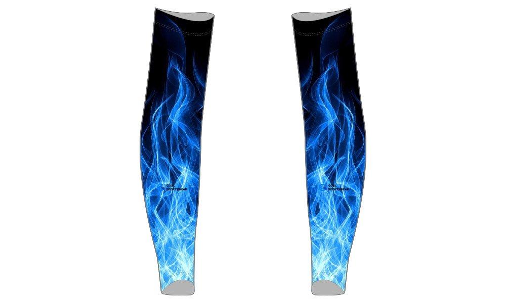 Full dye sublimation printing custom made team custom baseball arm sleeves