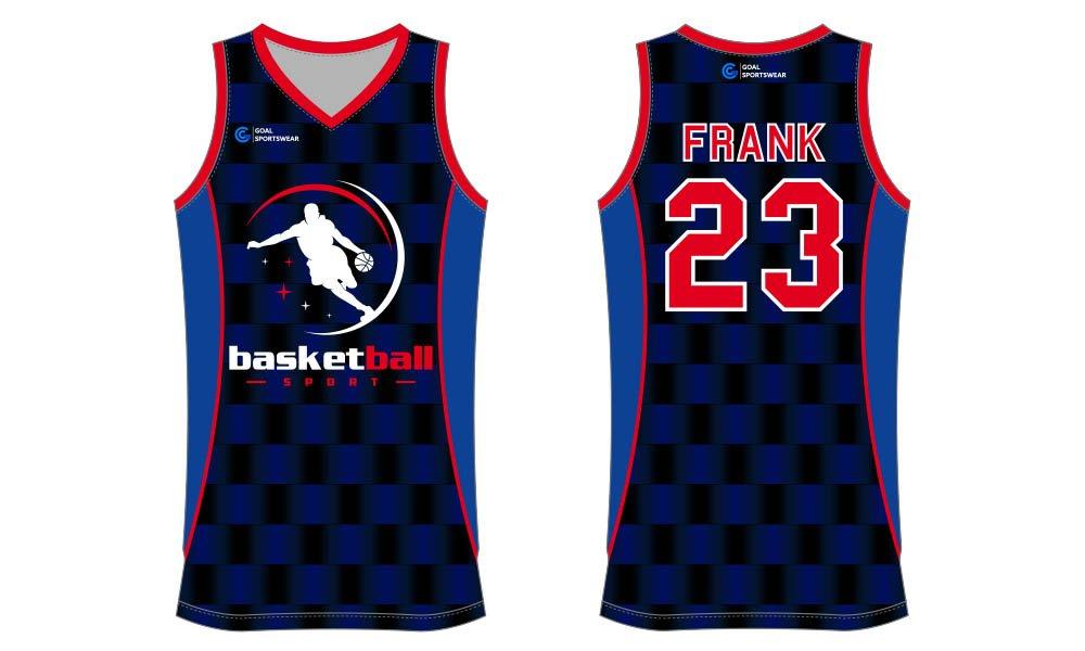 Full polyester breathable custom design sublimated basketball jersey design