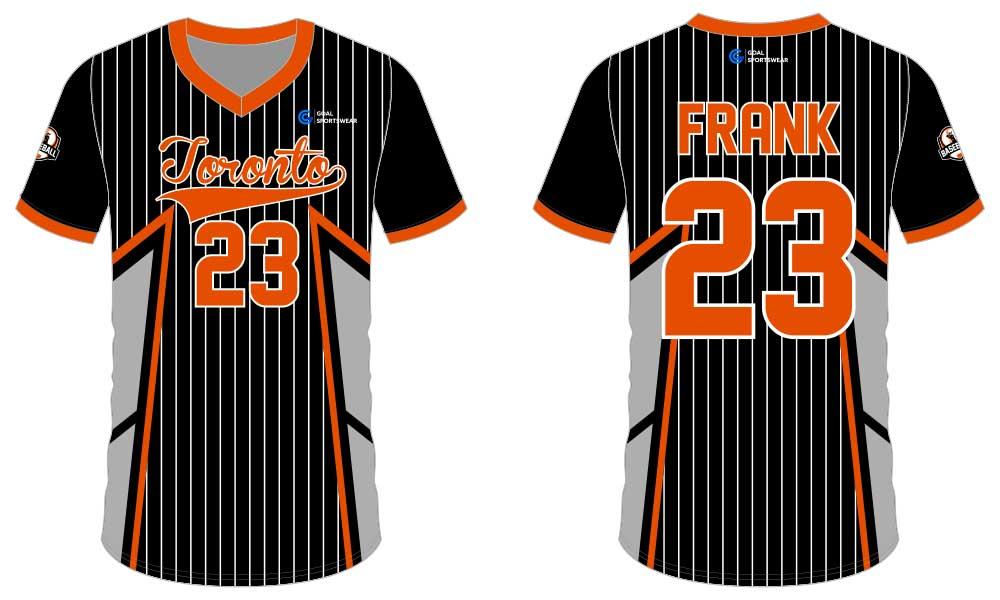 Full polyester breathable custom design sublimated custom baseball tees