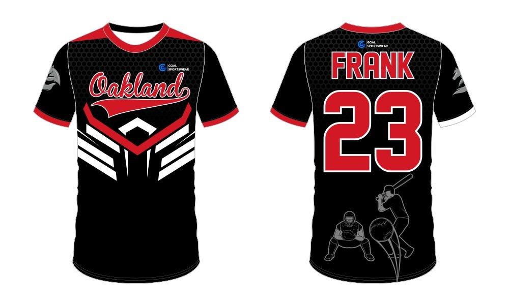 Full polyester breathable custom design sublimated custom throwback baseball jerseys