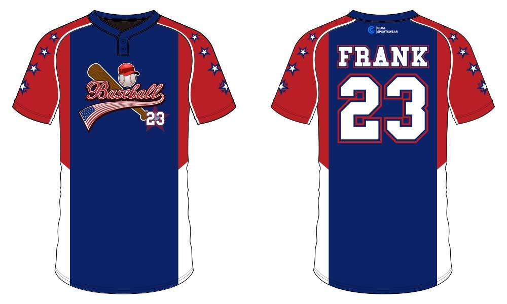 Full polyester breathable custom design sublimated sublimated baseball uniforms