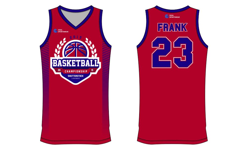 Full polyester durable sublimated custom youth team basketball jersey design