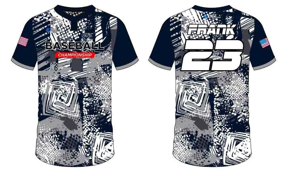 Full polyester durable sublimated custom youth team custom throwback baseball jerseys