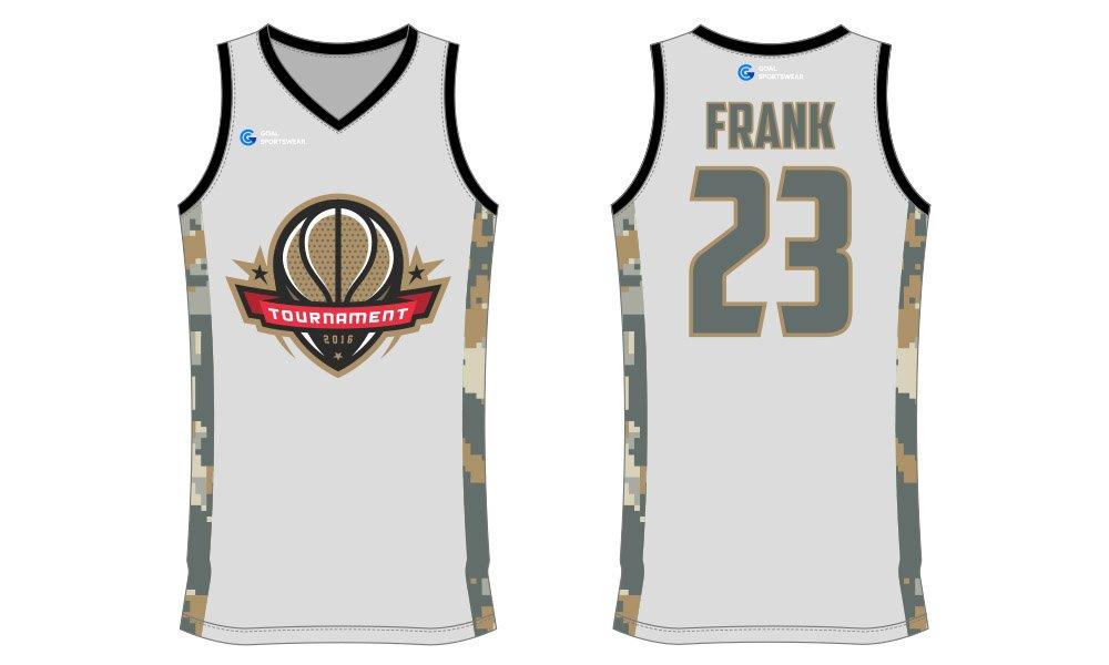 High school custom design sublimated reversible basketball jersey design