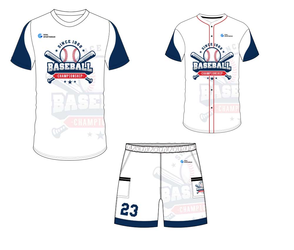 High school custom design sublimated reversible custom baseball gear