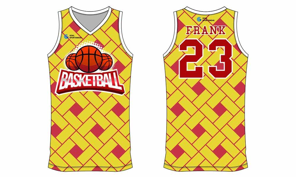 Pro quality sublimation printing custom design team basketball jersey design