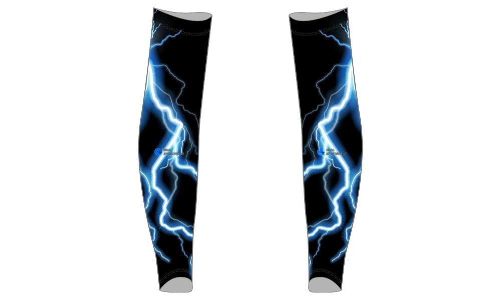 Pro quality sublimation printing custom design team custom baseball arm sleeves
