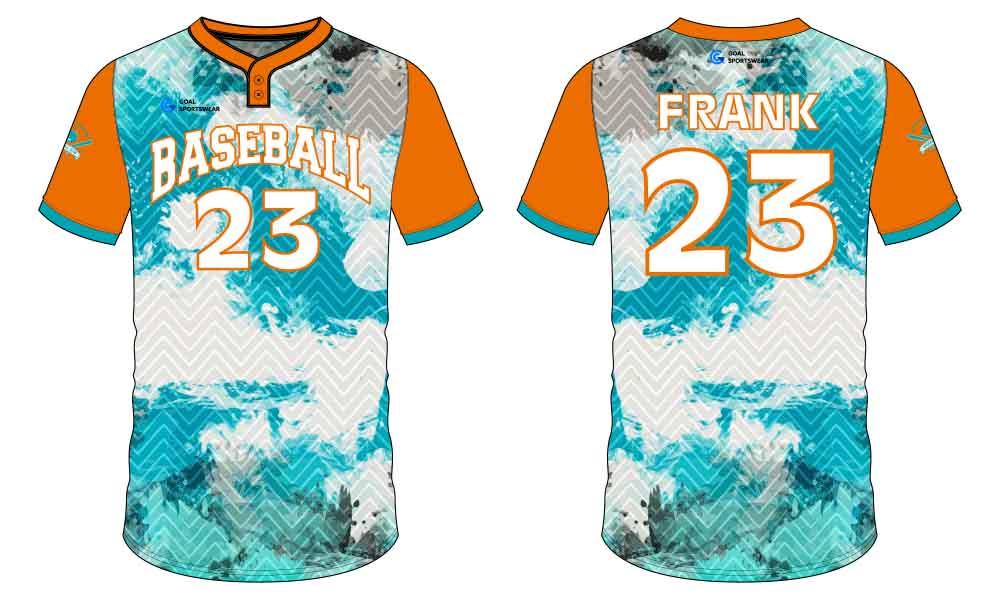 Pro quality sublimation printing custom design team custom throwback baseball jerseys