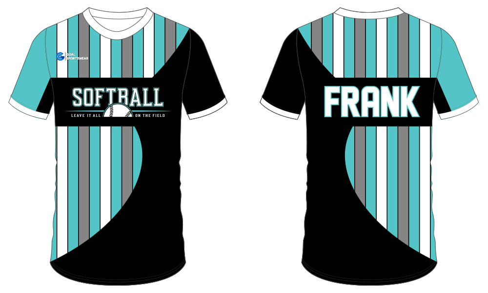 Professional custom made softball jersey design