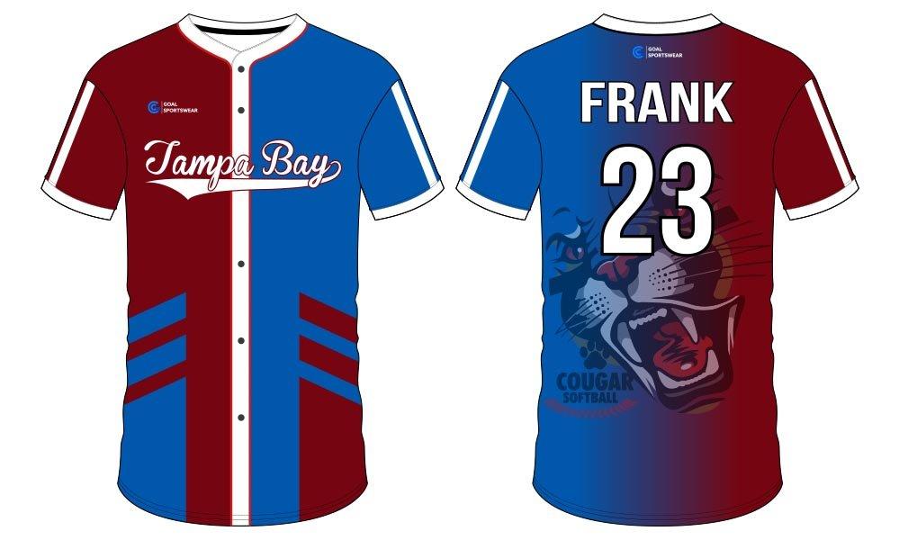 Sublimation jersey custom design softball jersey design