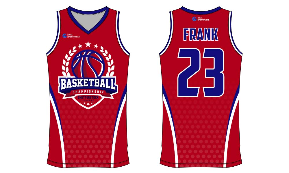 Sublimation printing 100% polyester dry fit custom basketball jersey design