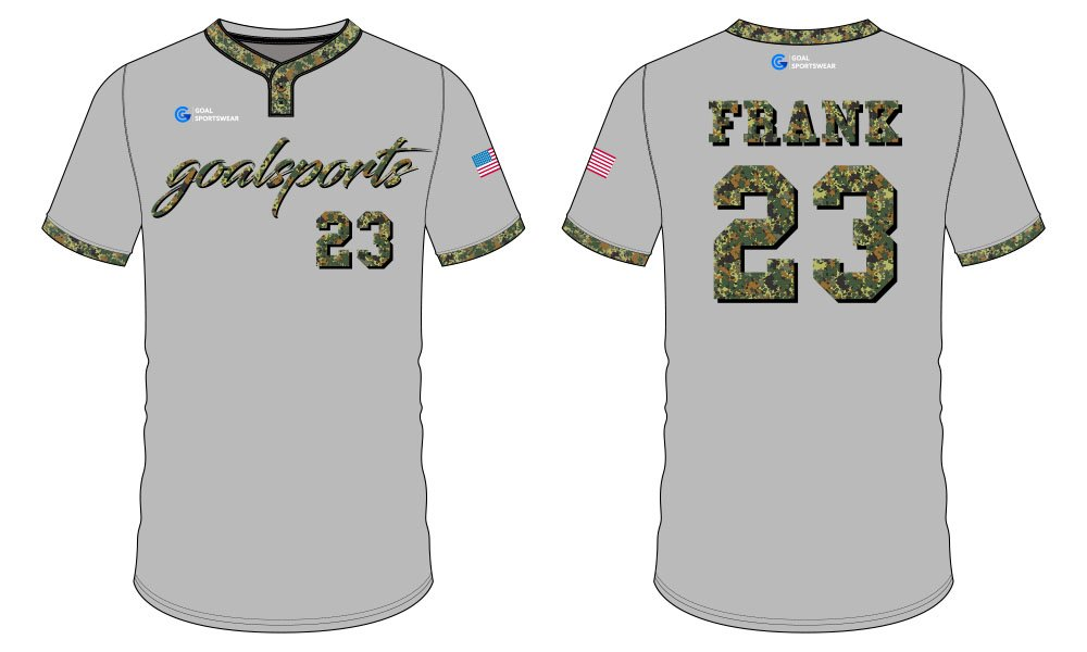 Sublimation printing 100% polyester dry fit custom sublimated baseball uniforms