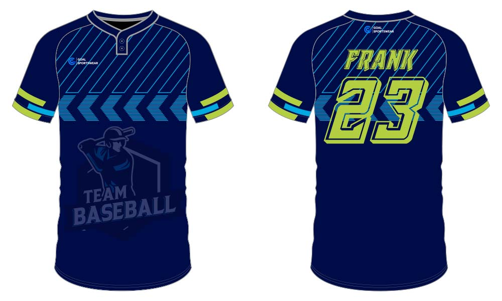 Sublimation printing 100% polyester dry fit custom throwback baseball jerseys
