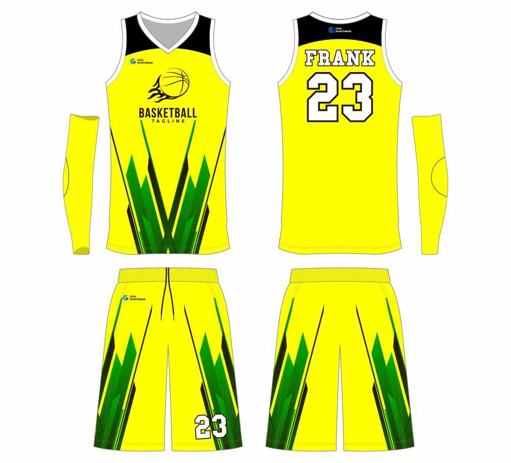 Wholesale Sublimatedcustomized printing basketball jersey design