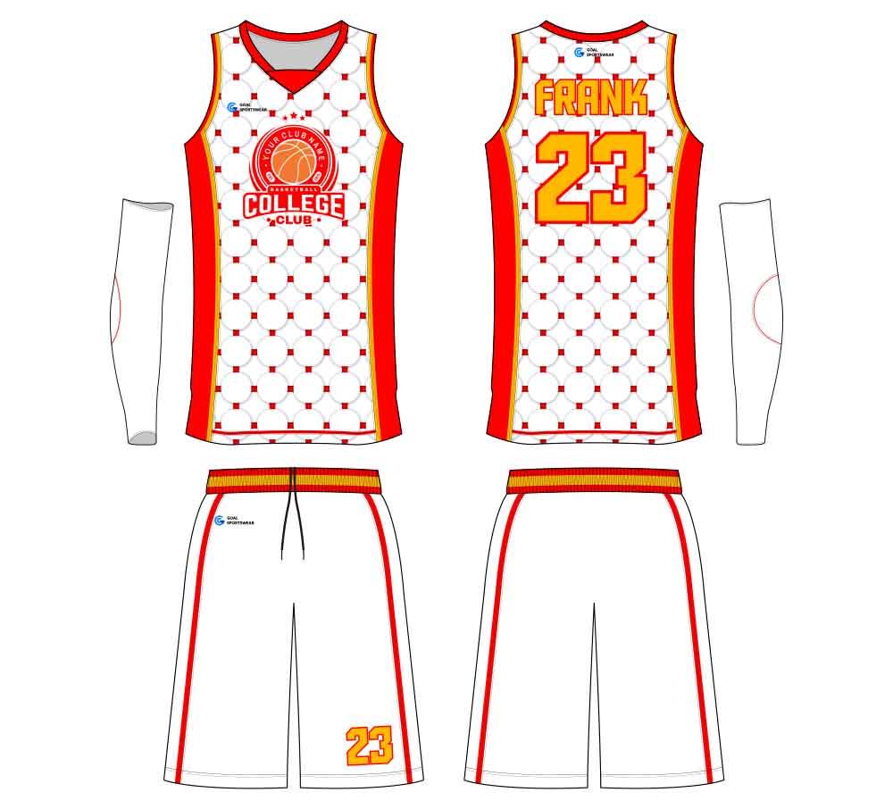 Wholesale high quality sublimation custom team basketball jersey design