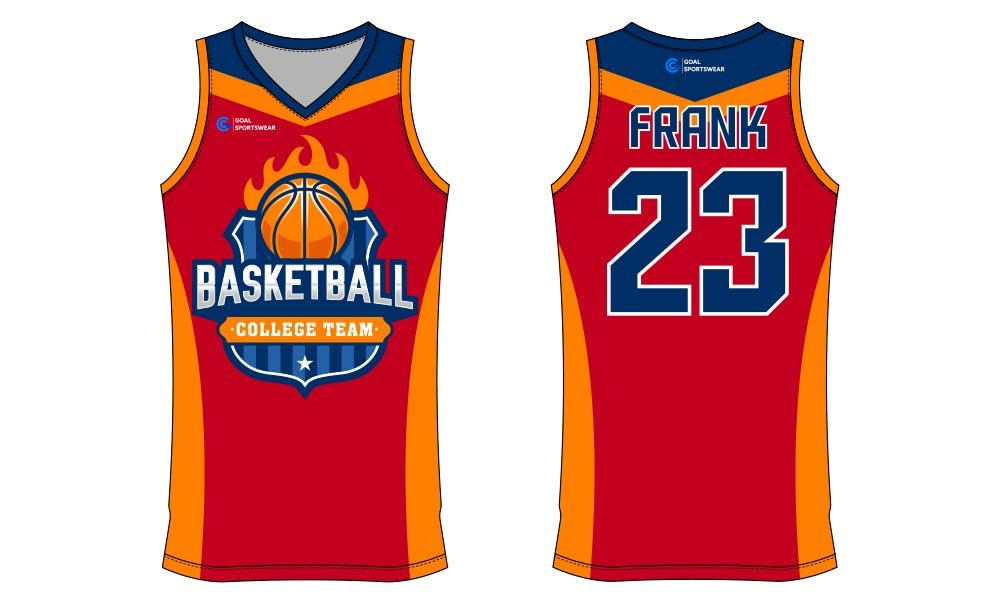 Wholesale high quality sublimation printing custom basketball jersey design