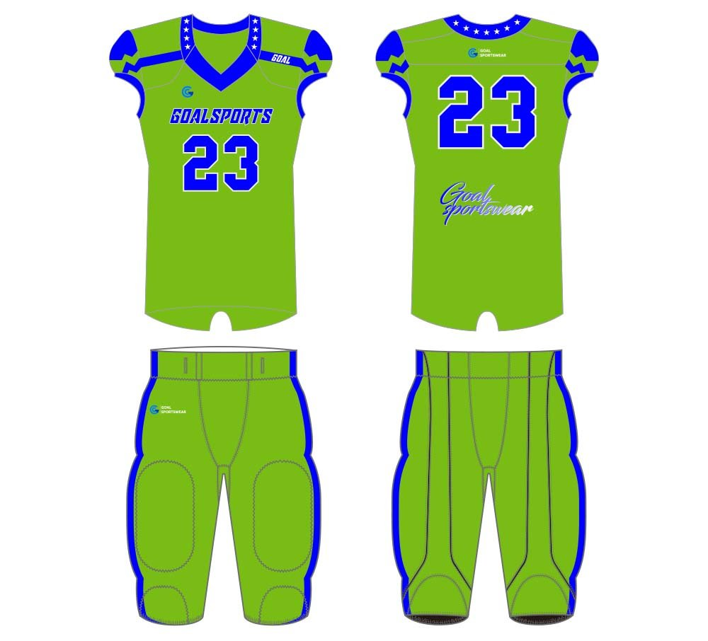 Wholesale high quality sublimation printing custom football jersey design