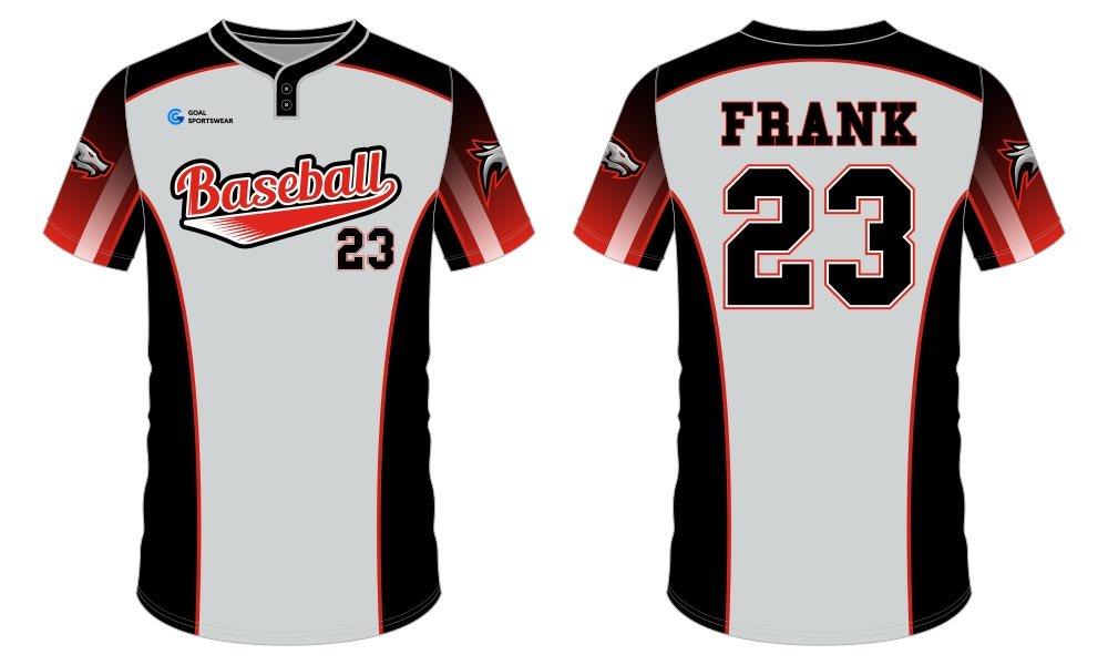 Wholesale high quality sublimation printing custom sublimated baseball uniforms