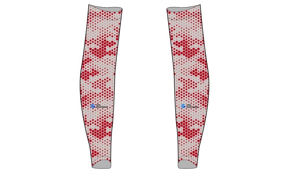 Wholesale pro quality custom design sublimated kids custom baseball arm sleeves