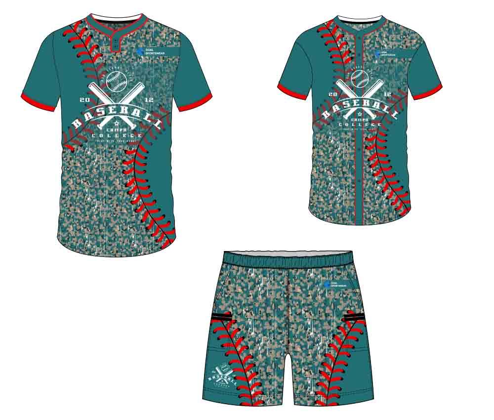 Wholesale pro quality custom design sublimated kids custom baseball gear