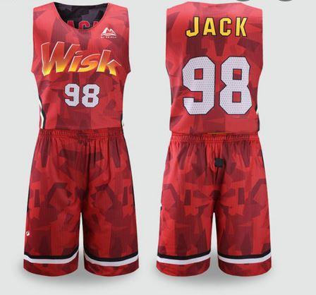 dye sublimation basketball uniform