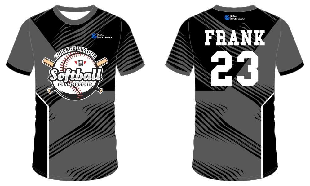 high school custom youth softball jersey design
