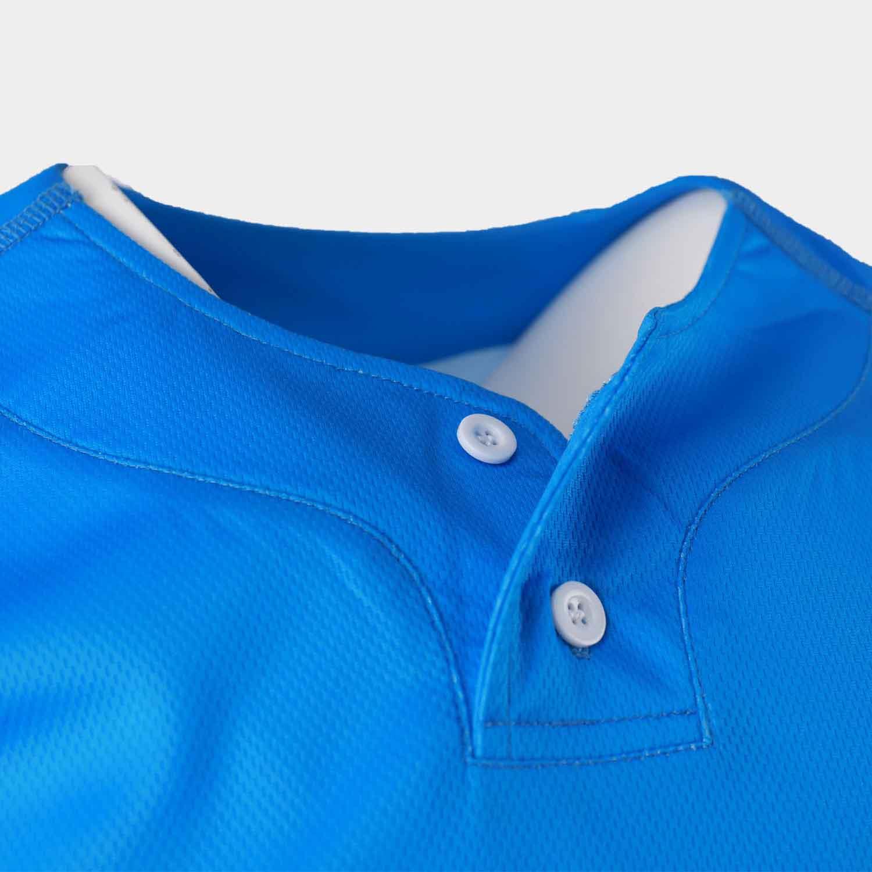 sublimated baseball uniforms button