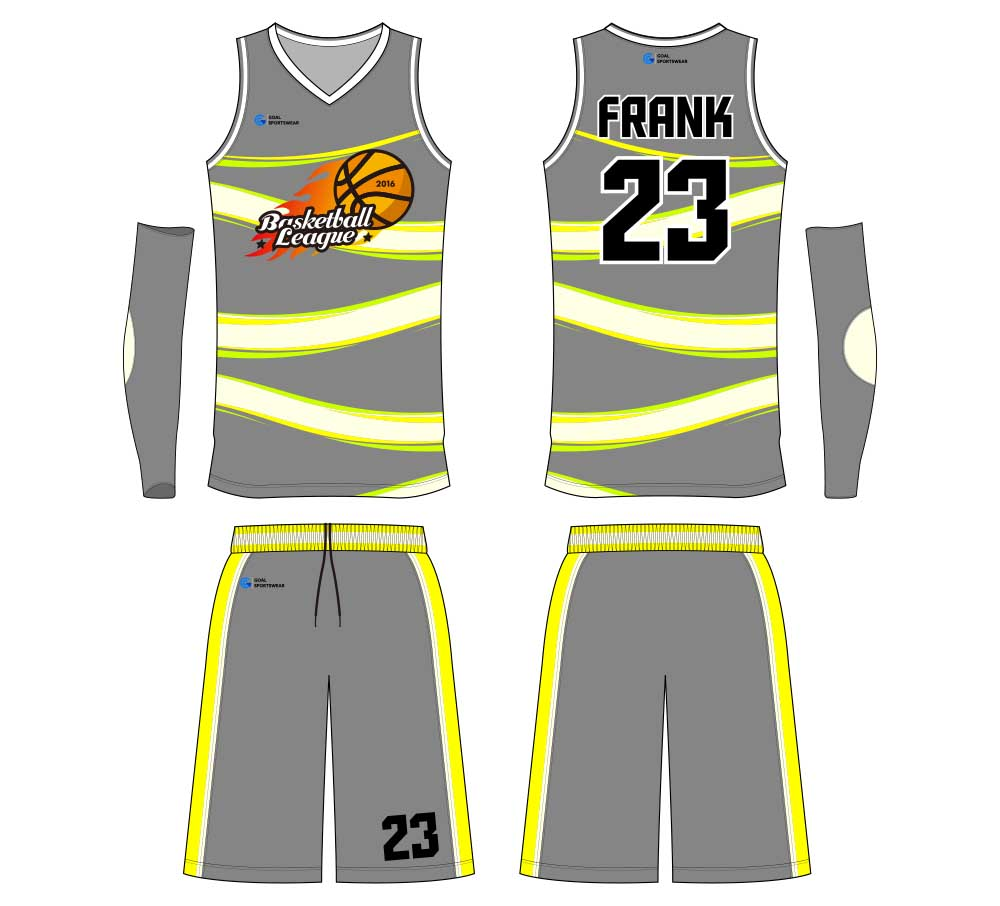 sublimated custom high school basketball jersey design