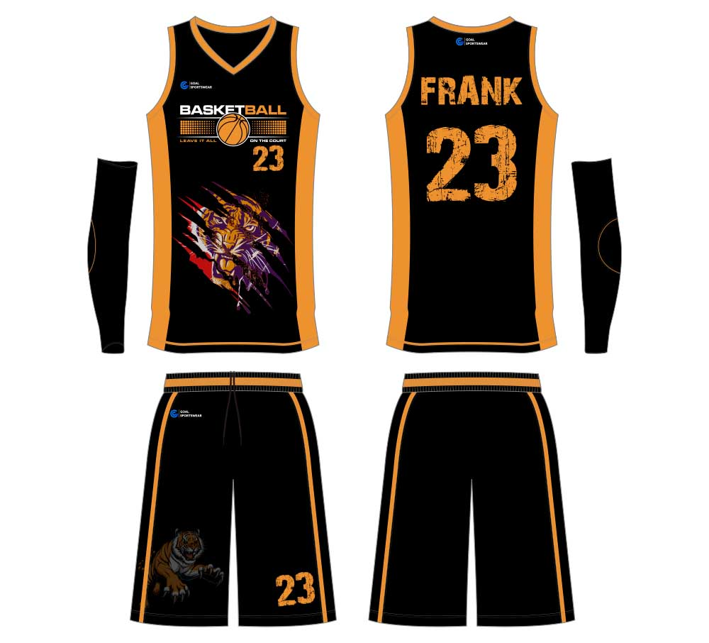 wholesale 100% polyester custom printed college basketball jersey design