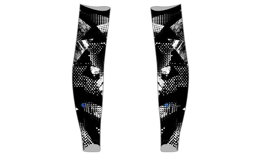 wholesale 100% polyester custom printed college custom baseball arm sleeves