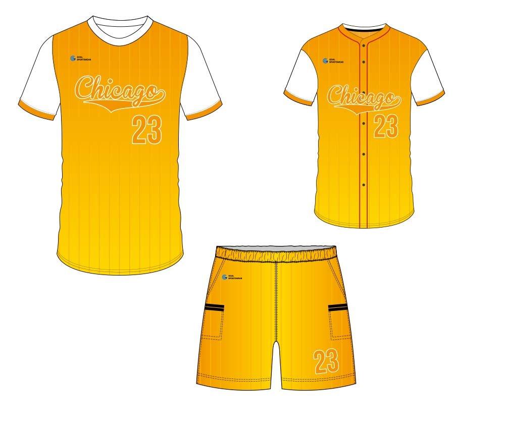 Wholesale 100% polyester custom sublimated printed custom baseball gear