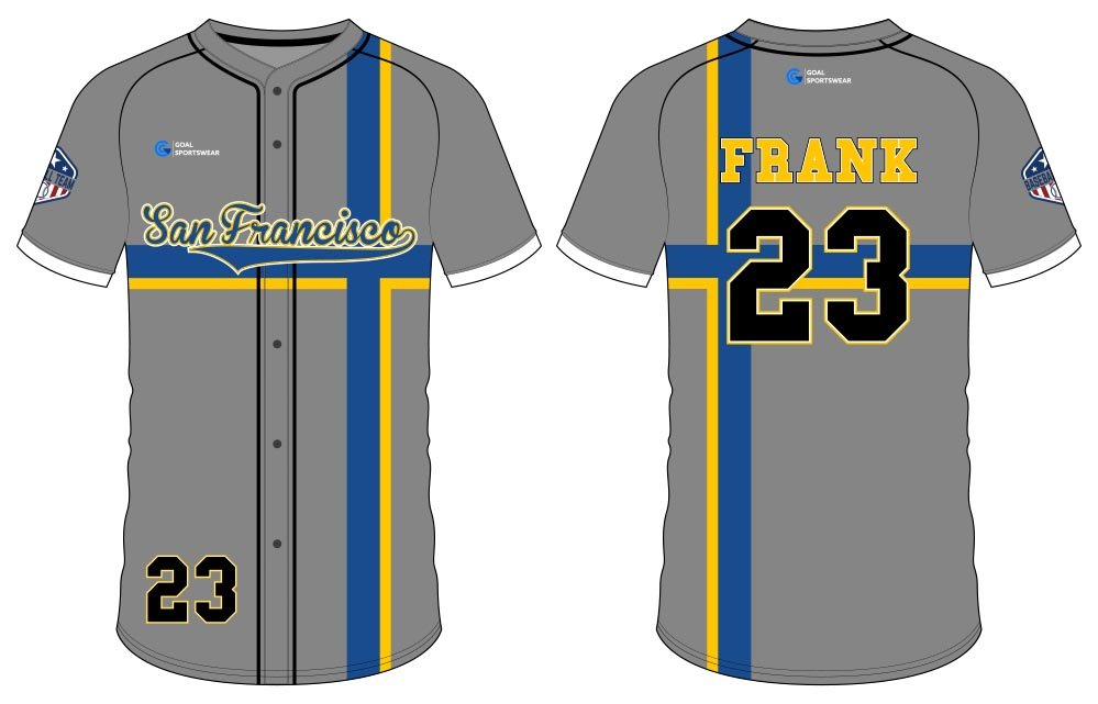 wholesale custom dri fit button down baseball jersey