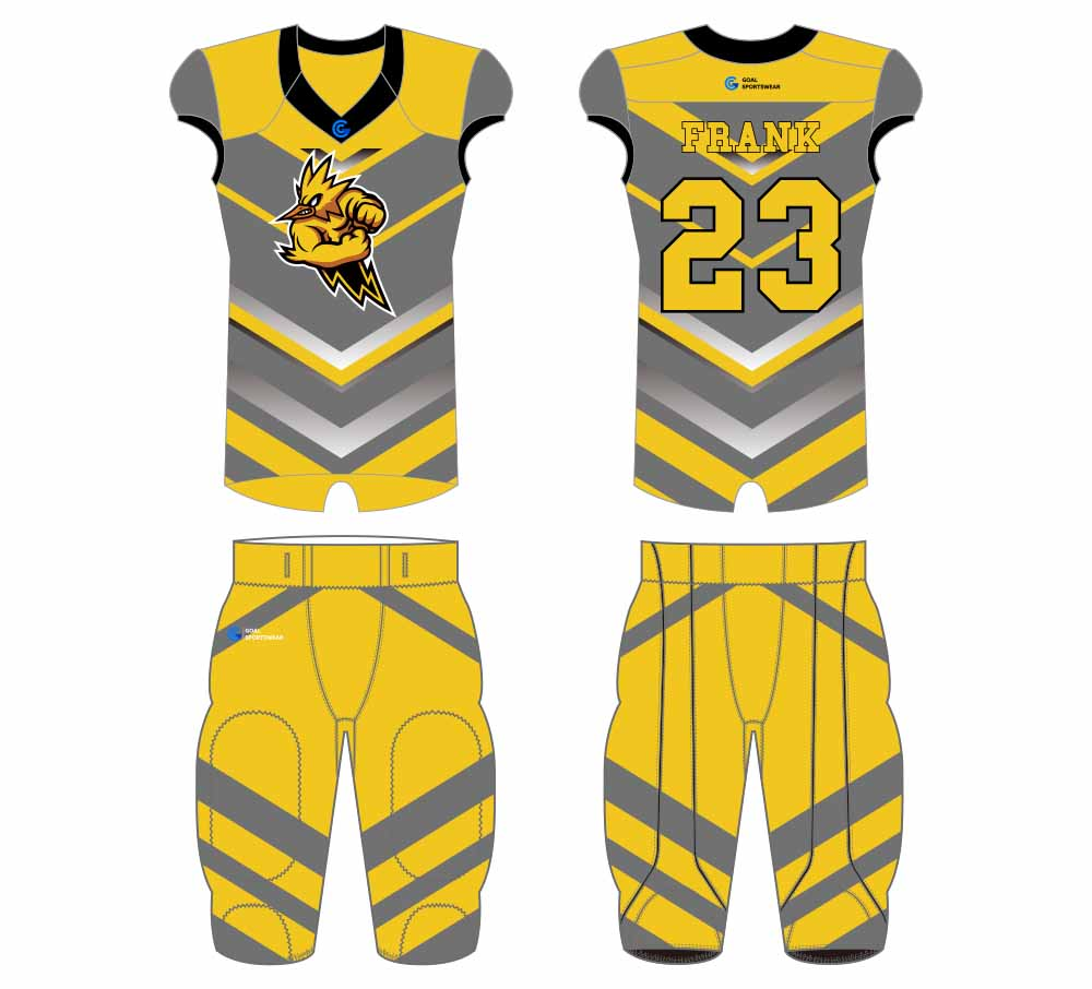 Wholesale high quality mens custom made football jersey design